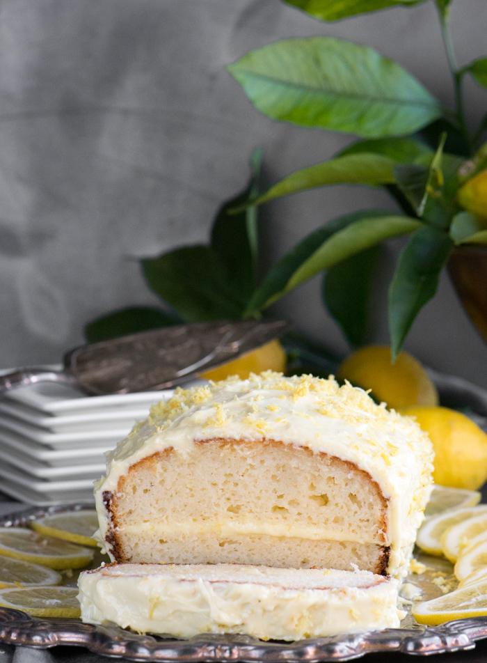 Lemon Loaf Cake 1
