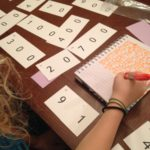 Making 91 with place value cards