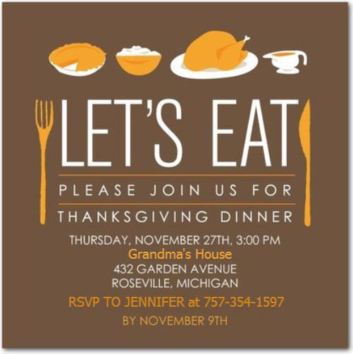Chuckle Of The Day \u2013 Grandma\u0027s Thanksgiving Invitation