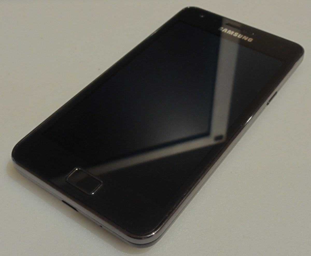Samsung Galaxy S2 Handset Picture Screen