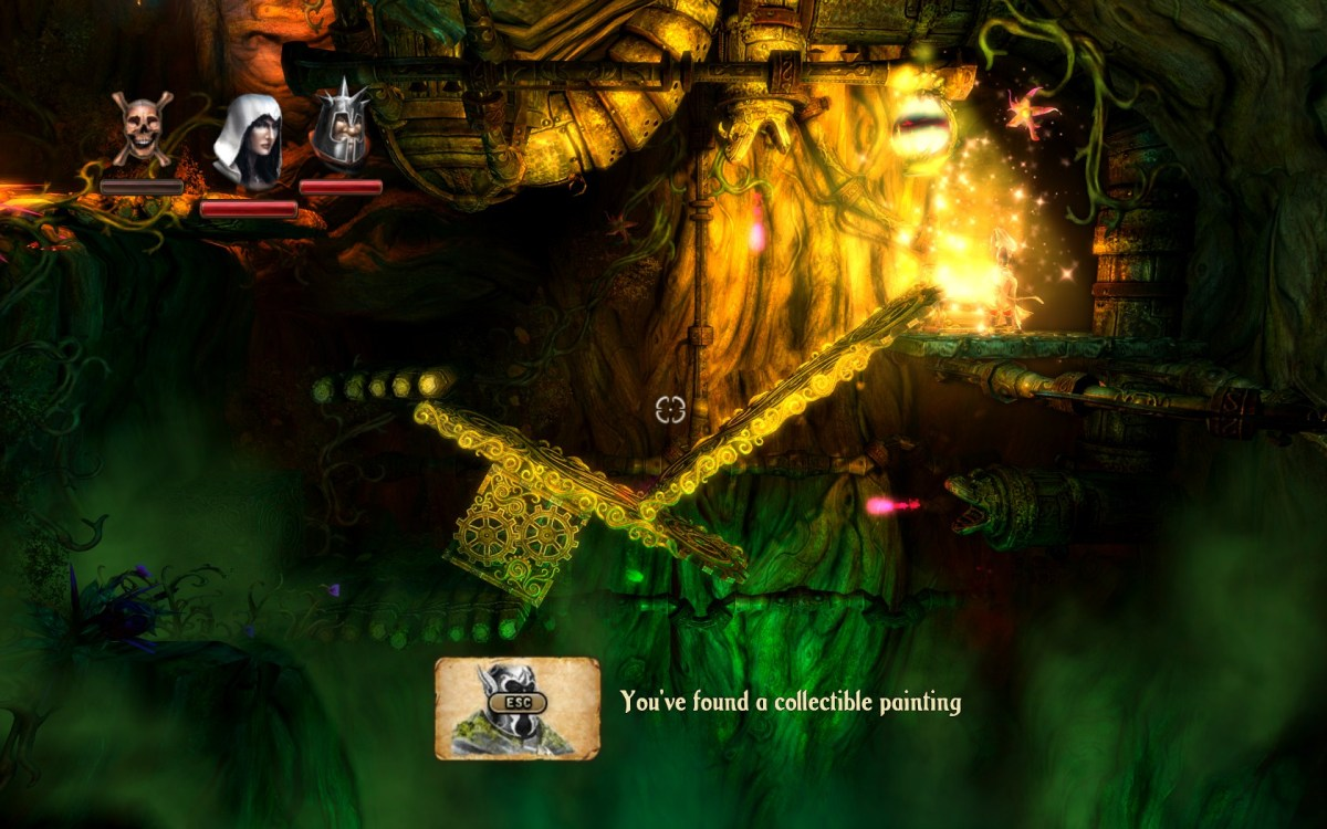 Trine 2 Screenshot Wallpaper Wizard Planks Boxes Puzzle Solve