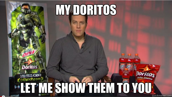 My Doritos Let Me Show Them To You geoff keighley