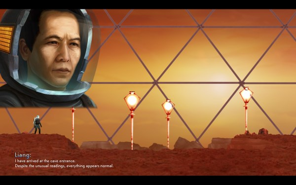 Waking Mars Screenshot Wallpaper Opening Scene