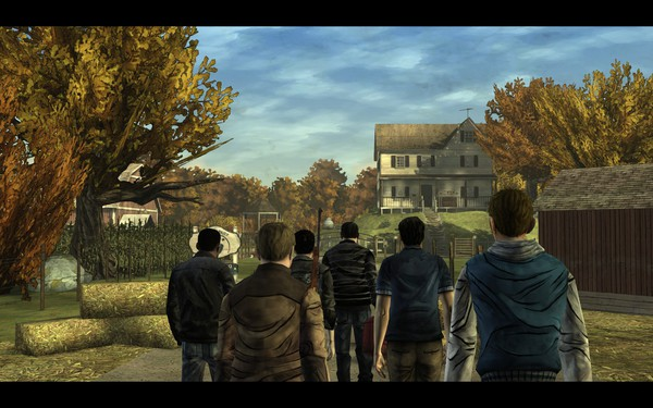 The Walking Dead Screenshot Wallpaper Little Dairy Farm of Horrors
