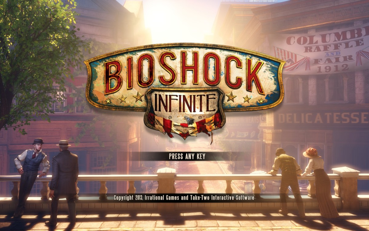 Bioshock Infinite Screenshot Wallpaper Title Screen