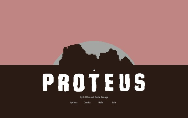 Proteus Screenshot Wallpaper Title Screen