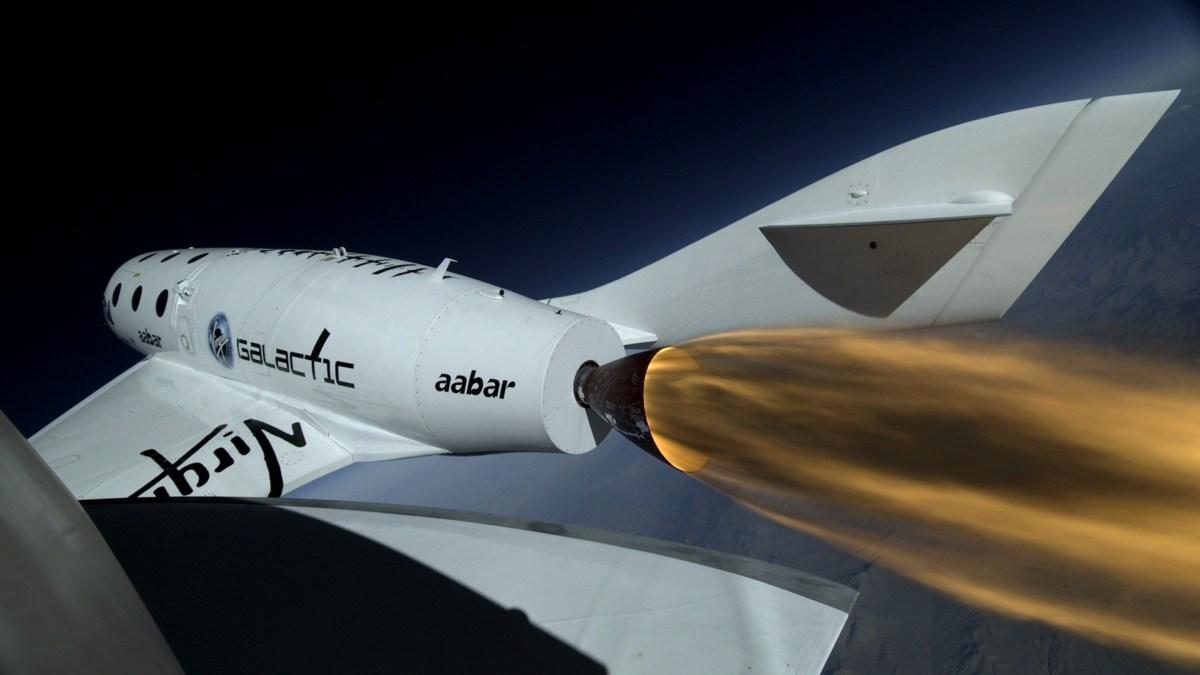 Virgin Galactic First Powered Flight