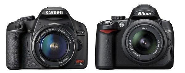 Canon and Nikon