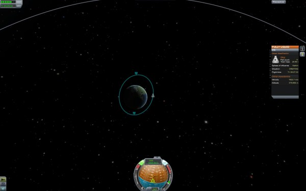 Kerbel Space Program Screenshot Wallpaper Earth Orbit