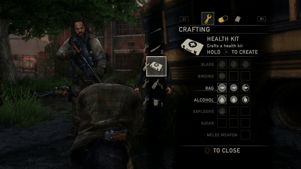 The Last Of Us Screenshot Wallpaper Crafting