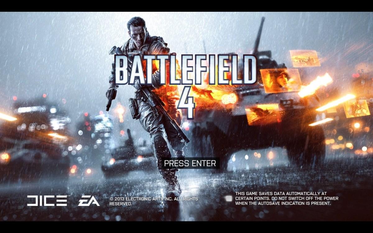 Battlefield 4 Review Screenshot Wallpaper Title Screen
