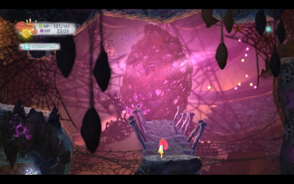 Child of Light Review Screenshot Wallpaper A Tangled Crystal Heart