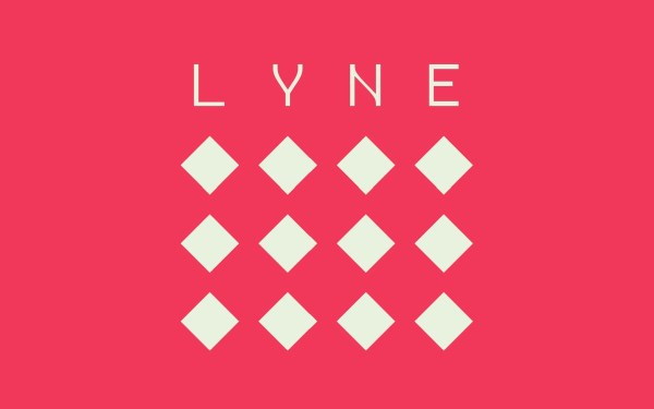 Lyne Review Screenshot Wallpaper Title Screen