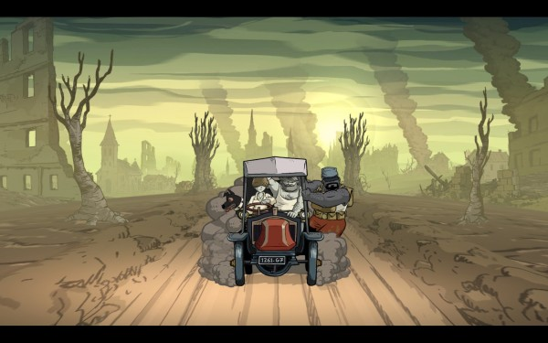 Valiant Hearts Review Screenshot Wallpaper Down The Dusty Road