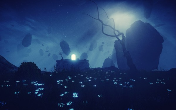 Mind Path to Thalamus Review Screenshot Wallpaper The World at Night