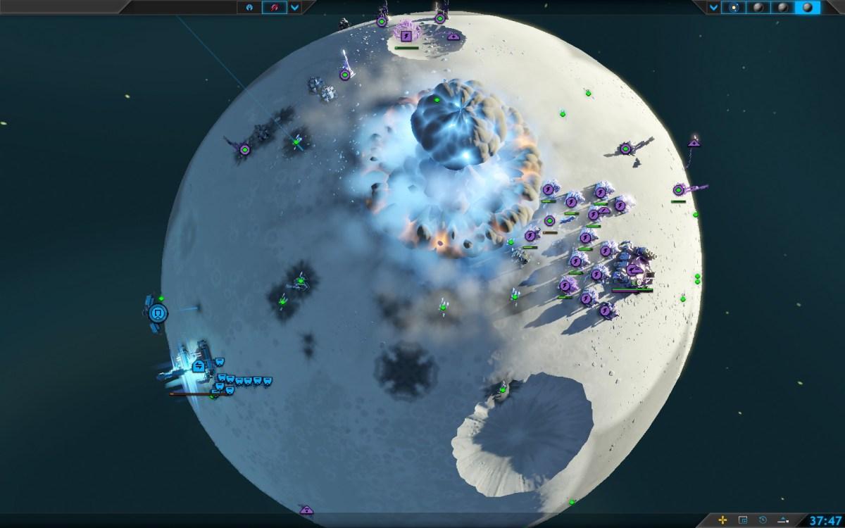 Planetary Annihilation Screenshot Wallpaper Commander Termintated