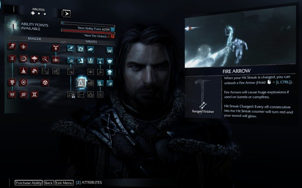 Middle Earth Shadows of Mordor Review Screenshot Wallpaper Talents