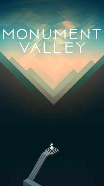 Monument Valley Screenshot Wallpaper Title Screen