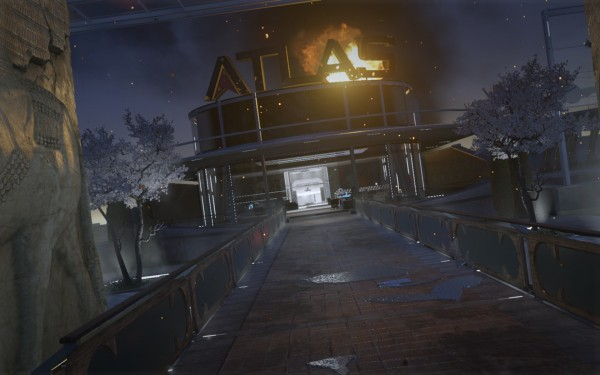 Call of Duty Advanced Warfare Screenshot Wallpaper Atlas Down