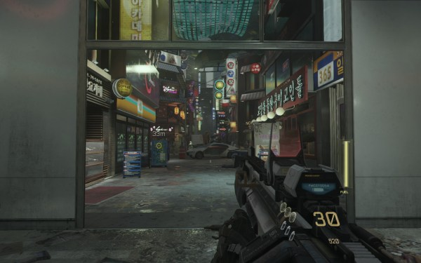 Call of Duty Advanced Warfare Screenshot Wallpaper South Korea