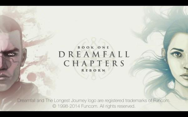 Dreamfall Chapters Review Screenshot Wallpaper Title Screen