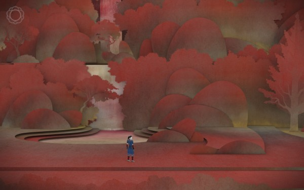 Tengami Review Screenshot Wallpaper Autumns Fall