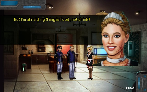 Technobabylon Screenshot Wallpaper Synthetics Are Weird