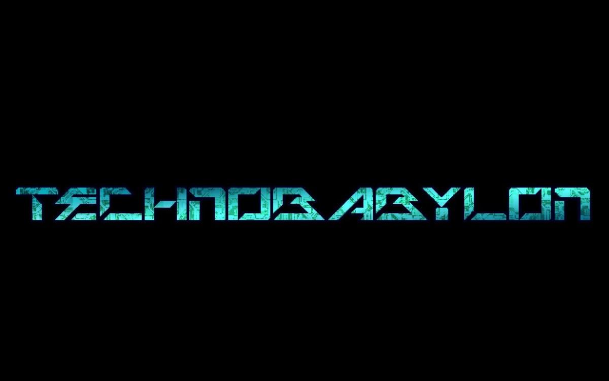 Technobabylon Screenshot Wallpaper Title Screen