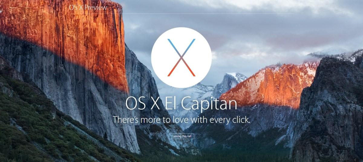 OSX El Capitan