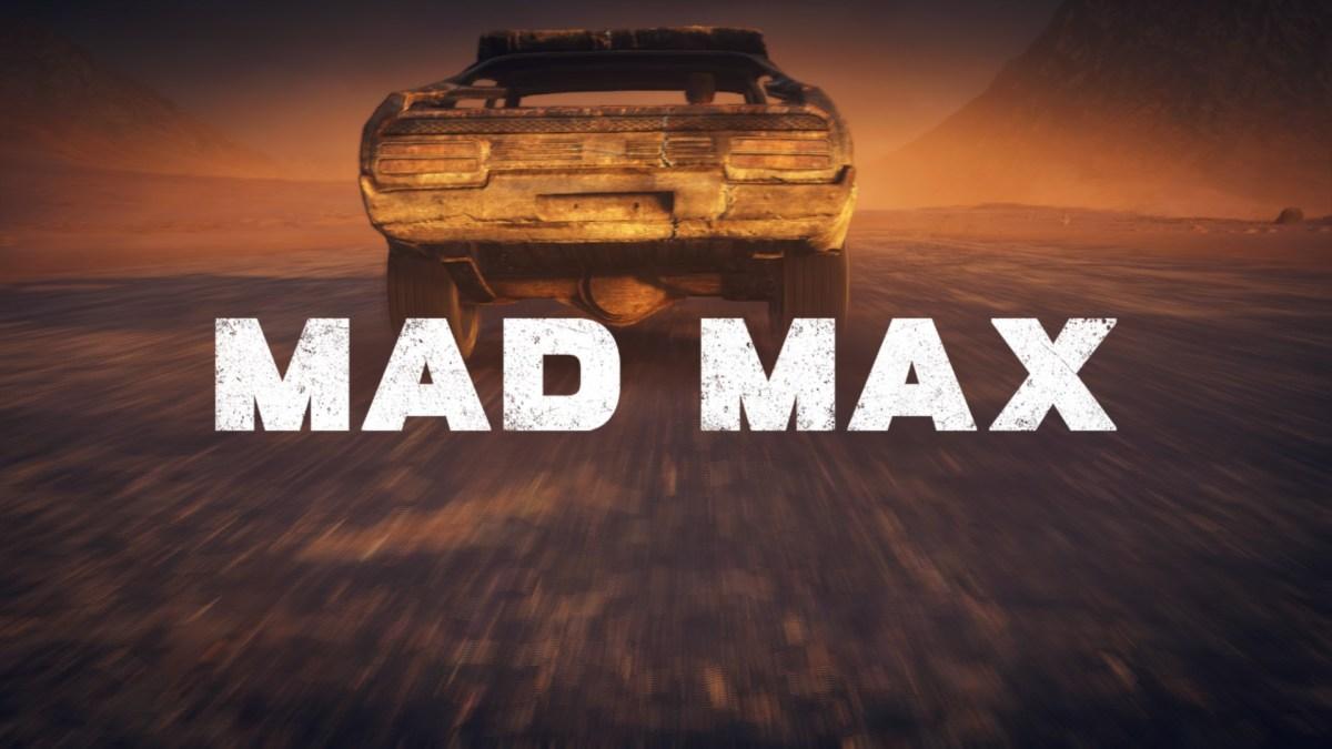 Mad Max Review Screenshot Wallpaper Title Screen