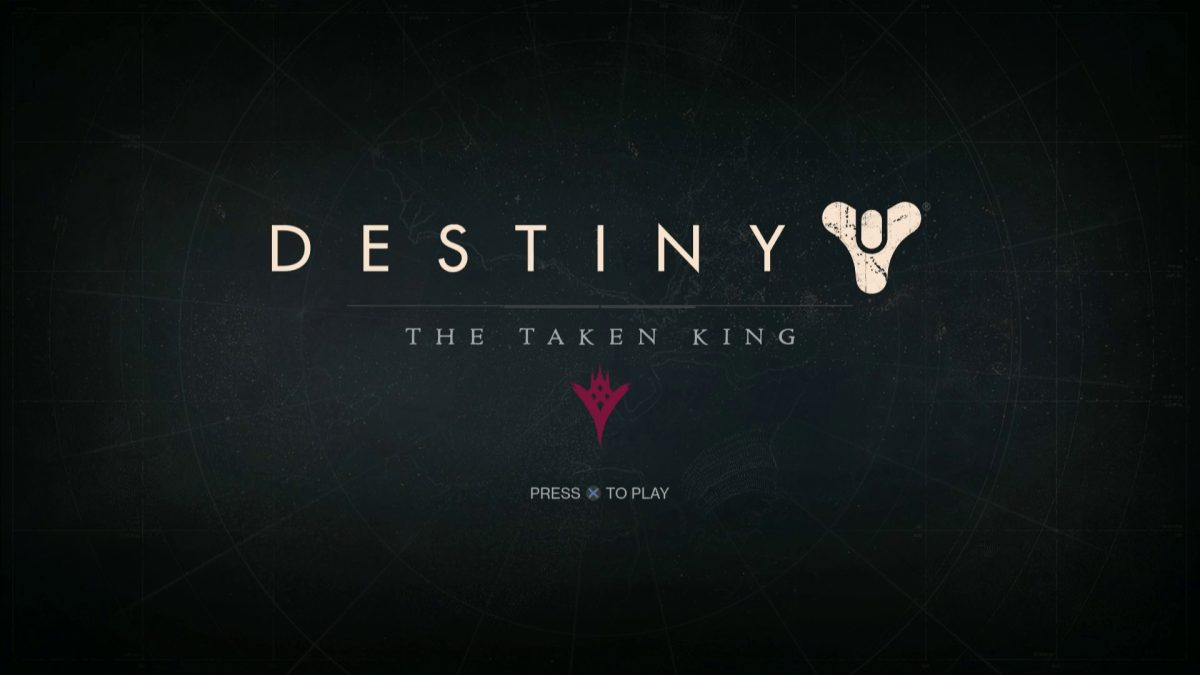 Destiny The Taken King Screenshot Wallpaper Title Screen