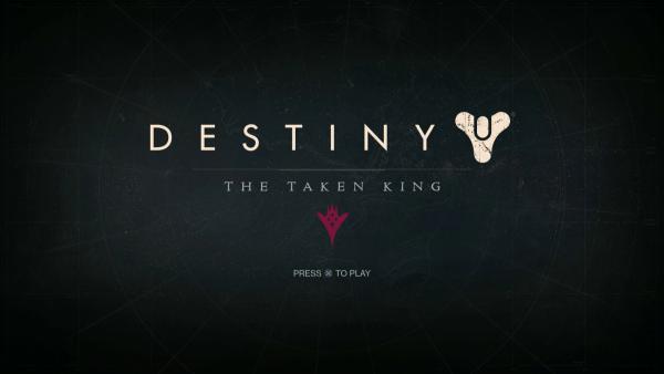 Destiny The Taken King Screenshot Wallpaper Title Screen
