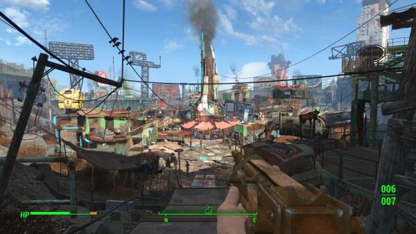 Fallout 4 Review Screenshot Wallpaper Diamond City