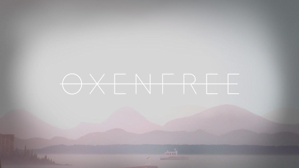 Oxenfree Review Screenshot Wallpaper Title Screen