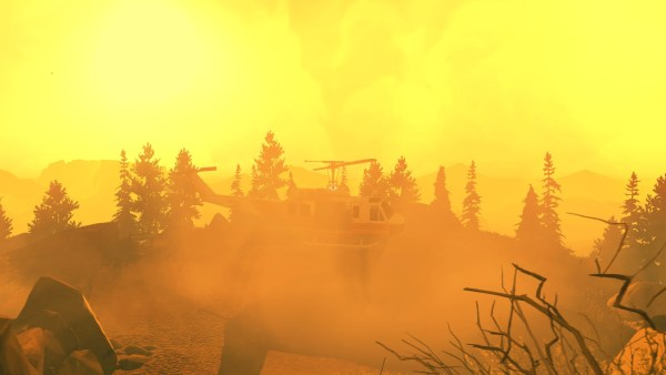 Firewatch Review Screenshot Wallpaper The Flapjack Fire