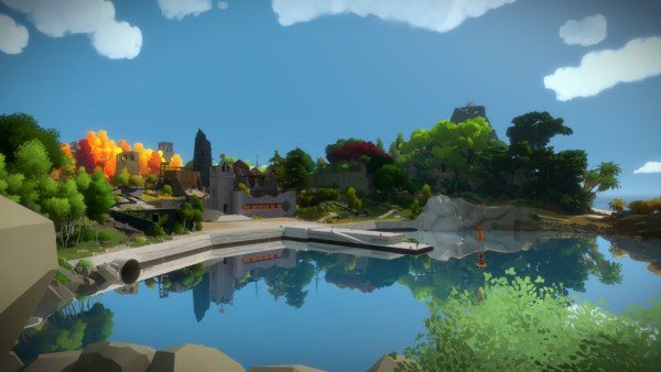 The Witness Review Screenshot Wallpaper The Lake