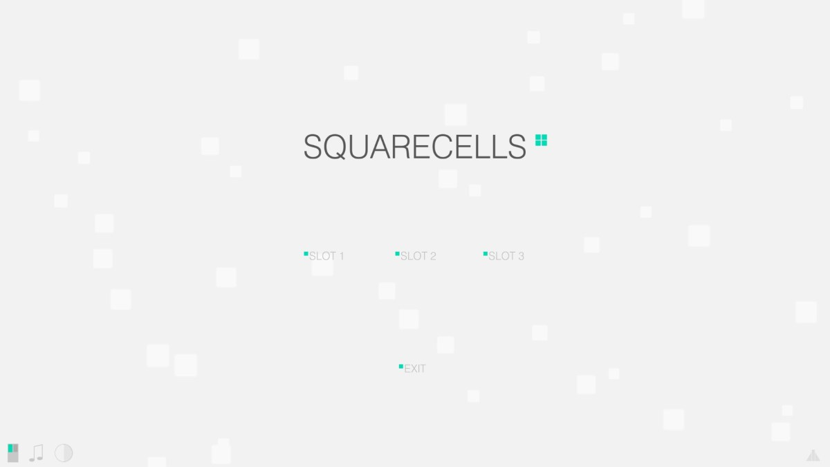 SquareCells Review Screenshot Wallpaper Title Screen