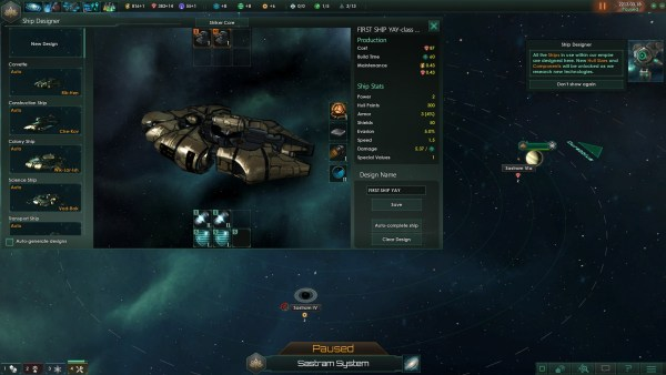 Stellaris Review Screenshot Wallpaper Ship Designer