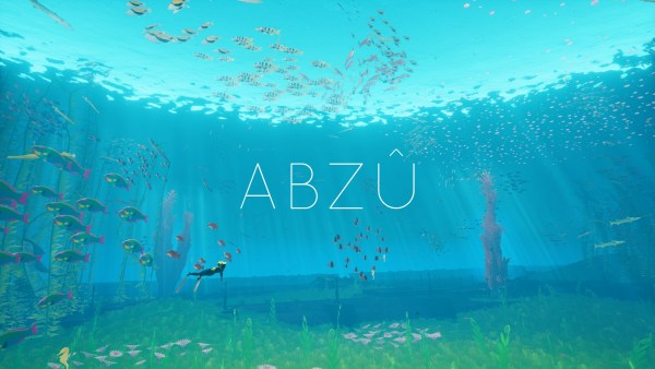 ABZU Review Screenshot Wallpaper Title Screen