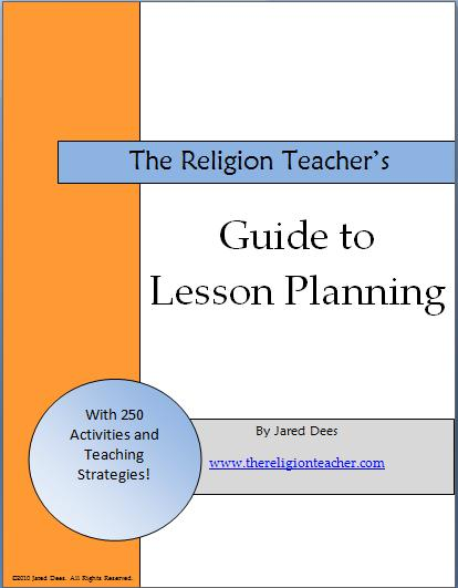 Launching the Free E-book Guide to Lesson Planning The Religion - teacher lesson plan