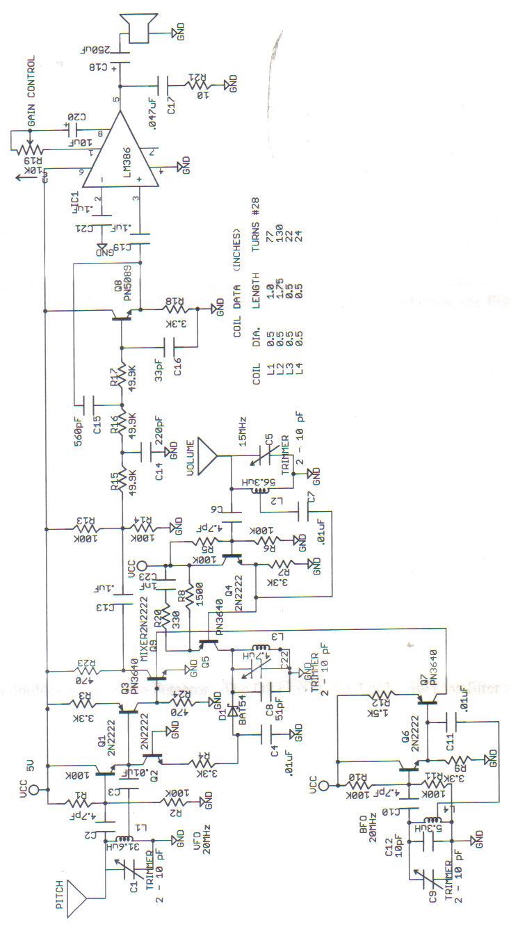 theremin schematics
