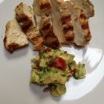 Grilled Chicken Breasts With Chunky Guacamole