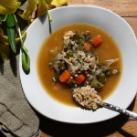 Healing Chicken Alphabet Soup