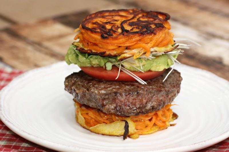 2200 best burger on sweet potato bun