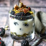 Berry Fig Yogurt Parfait