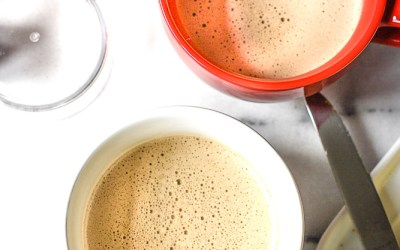 bulletproof coffee sweetened with dates