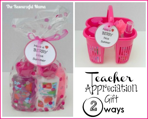 Teacher Appreciation~Have a Berry Nice Summer! - The Resourceful Mama