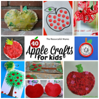 Ultimate List of Apple Crafts for Kids