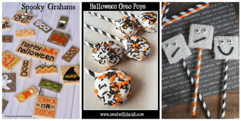 Fun & easy Halloween treats from Save More Spend Less featured at #made4kids
