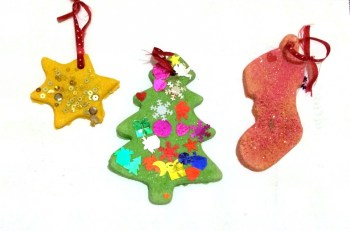 salt dough ornaments by Clare's Little Tots